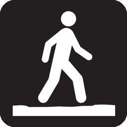 ic u00f4nes marcher  u00e0 t u00e9l u00e9charger gratuitement ic u00f4ne com Pedestrian Clip Art Training Bridge Clip Art