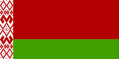 drapeau de la bielorussie