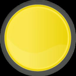 Icône cercle jaune rond à télécharger gratuitement