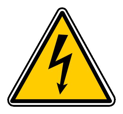 Icône triangle électricité panneau danger à télécharger ... Road Direction Signs